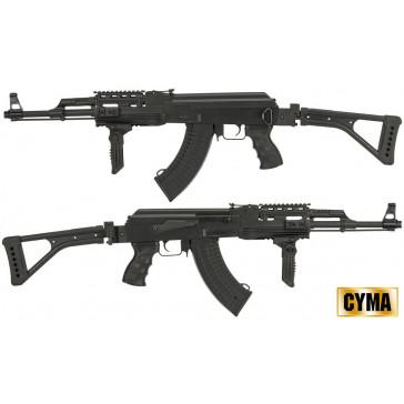 AK 47 FULL AUTOMATIC TACTICAL FOLDING BLACK CM522U