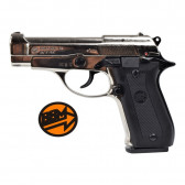BRUNI PISTOLA A SALVE 84 CALIBRO 9MM NIKEL (BR-2700N)