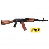 Fucile Elettrico AK-74 CM048 Metallo E Vero Legno Completo Cyma (CM048)