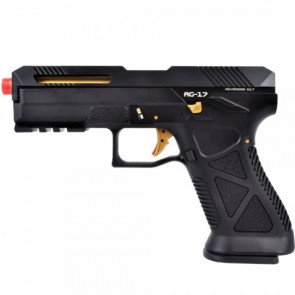 HFC PISTOLA A GAS AG-17 NERO (HG 182B)