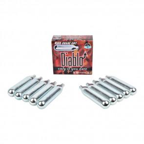 10 Bombolette CO2 12gr DIABLO (C10DIABLO)