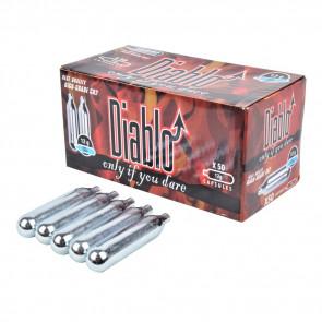 50 Bombolette CO2 12gr DIABLO (C50DIABLO)