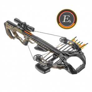 EK ARCHERY BALESTRA COMPOUND GUILLOTINE-X 185 LIBBRE  CAMO FULL KIT (CR062M)