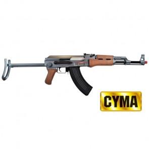 FUCILE ELETRICO AK 47S FOLDING NEW EDITION LEGNO (CM028SW)