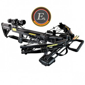 EK ARCHERY BALESTRA COMPOUND ACCELERATOR 390+ 185 LIBBRE NERA  FULL KIT (CR069B)