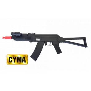 Fucile AK47 A Molla Nero Con Torcia AK47-P47A