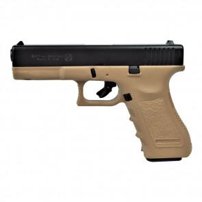 BRUNI GUNS PISTOLA A SALVE GAP CALIBRO 9mm NERA/TAN (BR-1401BT)