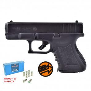 Pistola a salve MiniGap Cal. 8 mm + 50 cartucce (BR-1100 + f18)