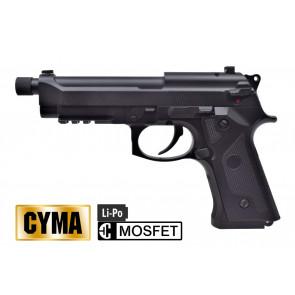 CYMA PISTOLA ELETTRICA M92 MOSFET NERA FULL METAL CM132UP