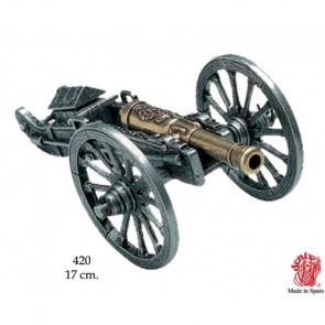 Riproduzione miniatura di Cannone Napoleonico 1806 Francia 17 cm (0420)