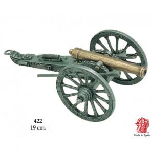 Riproduzione miniatura di Cannone Guerra Civile Americana 1861 USA 19 cm (0422)