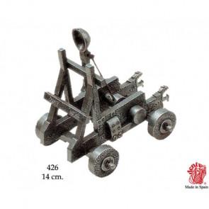 Riproduzione di Catapulta 11° secolo 14 cm (0426)