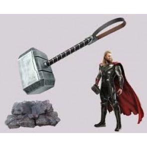 Martello di Thor (Mjöllnir) dagli Avengers - Replica fatta a mano in Resina (HK6588)