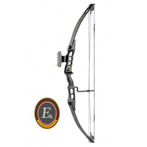 ARCO COMPOUND PROTEX 55LBS NERO EK ARCHERY (CO 030B)