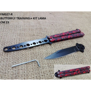 COLTELLO BUTTERFLY TRAINING COLFM027-R