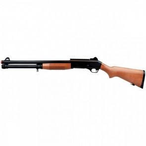 Fucile A Pompa Legno Con Bossoli M186B