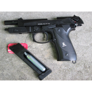 Beretta CO2 MHG192 Scarrellante Full Metal