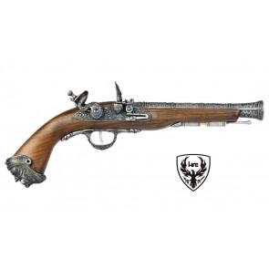 Pistola A CO2  Pirate Flinlock - HFC - Argento (HG 502SILV-CO2)