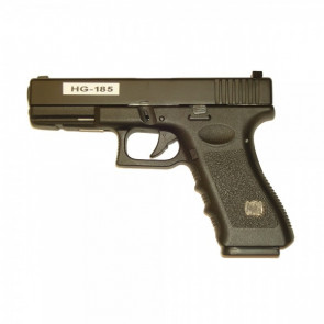 GLOCK  A GAS HALF METAL BLACK (HG 185) HFC
