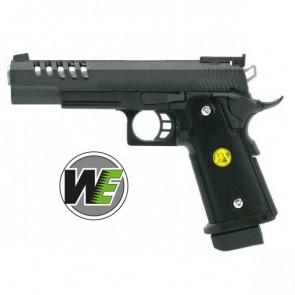Pistola Para Ordinance 5.1 Hi-Capa Custom Full Metal Scarrellante A Gas Nera WE (GGB 311TM)