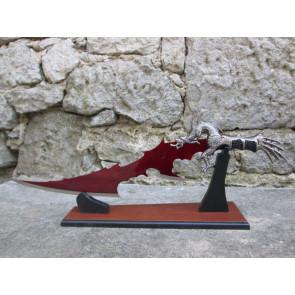 Coltello Drago Rosso Laccato