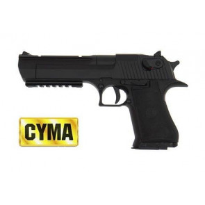 Pistola Desert Eagle Elettrica Gear Box In Metallo (CM121)
