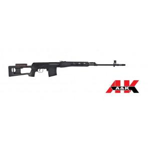 Fucile Elettrico Dragunov SDV - Full-Metal - Nero Opaco - A&K (SVD)