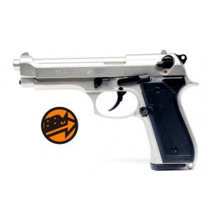 Pistola A Salve Beretta 92 FS 9 Mm Nikel Satinato (BR-1305NS)