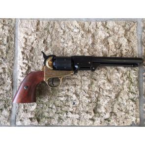 Colt Navy Nera e Oro 1850 01083L