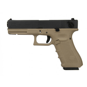 WE PISTOLA A GAS G18 GEN4 TAN E NERA (W059BT)