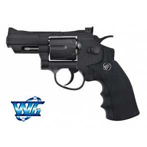 REVOLVER FULL METAL 708 BLACK CO2 WIN GUN (C 708B)