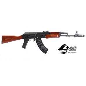 AK 47 SCARRELLANTE FULL METAL LEGNO (1012)