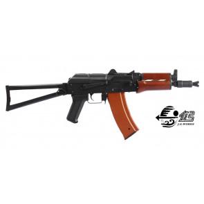 AK 74U SCARRELLANTE FULL METAL LEGNO (1011)