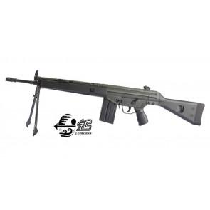 Fucile Elettrico T3-K4 Modello G3 SG1 Con Bipiede - Nero (T3098)