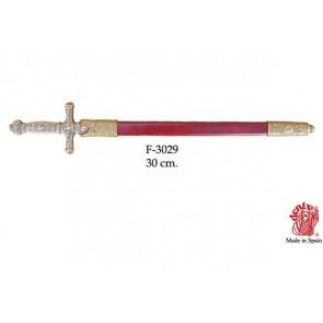 Napoleone spada tagliacarte con fodero. 03029FS