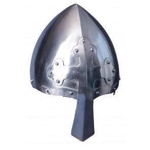Elmo Acciaio Nasal Helmet With Cross Indossabile