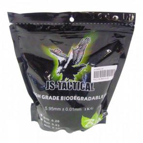JS-TACTICAL BB BIODEGRADABILI HIGH GRADE 0,25g (JS-BIO0.25)