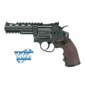 REVOLVER 701 FULL METAL CO2 WIN GUN CON TAMBURO ROTANTE (C 701)