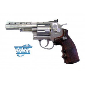 REVOLVER 701 FULL METAL CO2 WIN GUN SILVER CON TAMBURO ROTANTE (C 701S)