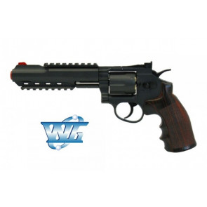 REVOLVER 702 FULL METAL CO2 WIN GUN CON TAMBURO ROTANTE (C 702)