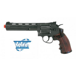 REVOLVER 704 LONG HEAVY MODEL CO2 WIN GUN CON TAMBURO ROTANTE (C 704)