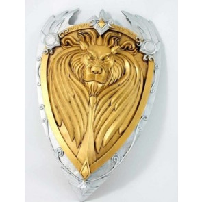 SCUDO LION'S HEART WORLD OF WARCRAFT