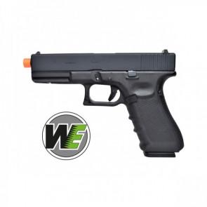 Pistola Glock 17 Ultima Generazione Scarrellante A Gas Nera WE (W057B)