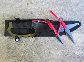 coltelli da lancio e kunai naruto