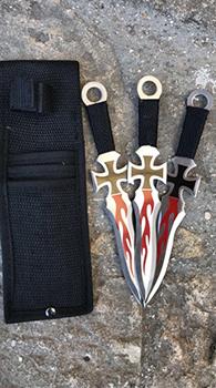 coltelli da lancio templari